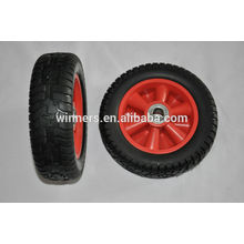 2.50-4 8inch steel centre Solid PU Foam Wheel