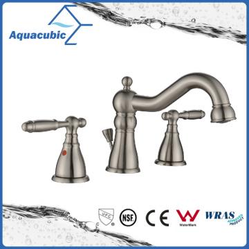 New Design Three Hole Bathroom Sink Faucet (AF4310-6BN)