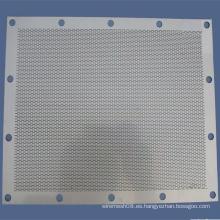Placa de metal perforado / hoja / malla