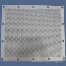Plaque de métal perforée / feuille / maille