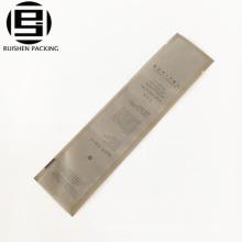 Bolso de empaquetado plástico dedicado del hotel para los artículos del tocador la crema dental del cepillo de dientes
