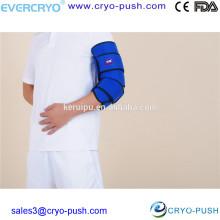 Packs de glace de coude pour les refroidisseurs utilisés par les physiothérapeutes