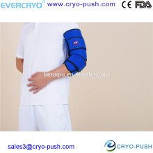 Reusable Instant Elbow Cold Gel Ice Packs with Wraps