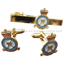 Customized Cuff Link & Tie Bar Hz 1001 F004