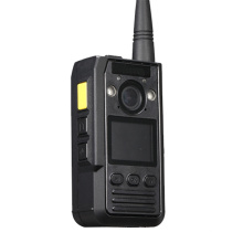 Multi-Functional GPS cuerpo cámara policía cuerpo desgastado 2 Vías Intercom IR Night Vision policía cuerpo cámara