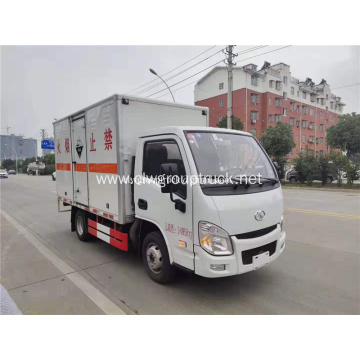 YUEJIN 4x2 10ton gas cylinder delivery truck