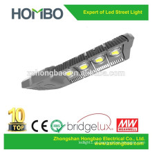 O corpo de alumínio da lâmpada de 160w 200w conduziu a rua clara IP65 A luz de rua conduzida de Bridgelux da luz de rua