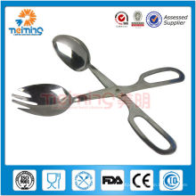 Stainless Steel kitchen Scissor Tong/stainless steel food tongs