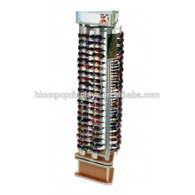 Retail Supplies Manufacturing Wholesale Floor Stand 3-Sided Sunglasses Store Optical Display Fixture