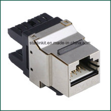 Geschirmte FTP CAT6 Keystone Jack