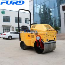 Mini compacteur à rouleau de roue lisse