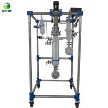 Conjunto de destilación de camino corto de equipo de laboratorio químico