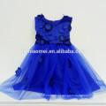 Atacado 2 3 4 5 6 7 Ano de idade Vestido Da Menina 2017 Baby Girl Party Dress Crianças Frocks Designs