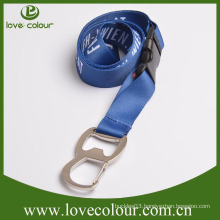 Cheap wholesale metal bottle opener lanyard