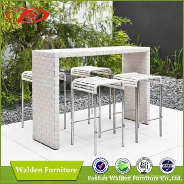 Rattan Bar Stuhl Bar Set