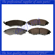 D902 S4510019 D1035 plaquette de frein de haute qualité pour daewoo lanos