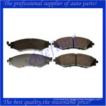 D902 S4510019 D1035 high quality brake pad for daewoo lanos