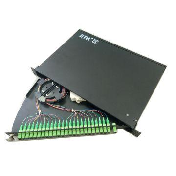 19 Inch Rack Mount Fiber Plc Splitter Box