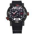 Hombres digital de cuarzo marca reloj de bolsillo, impermeable de acero inoxidable deportes relojes de pulsera de gran marca de lujo automático