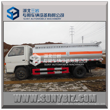 3000 -8000L Jmc 4X2 pequeño camión cisterna de reabastecimiento