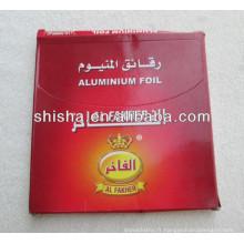 Al fakher Aluminium foil narguilé en aluminium