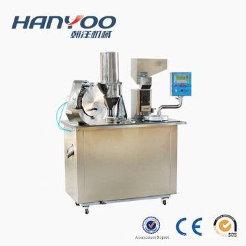 Mini enchimento semi-automático de alta qualidade da cápsula da máquina de enchimento da cápsula do PBF mini