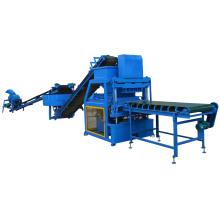FL4-10 automatic hydraulic press clay interlocking hollow brick block machine for sale