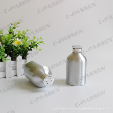 China Aluminum Sifter Bottle for Cosmetic Powder Packaging