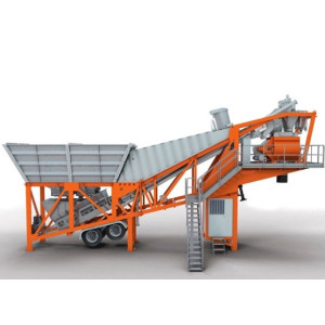 Mobile Rmc Concrete Placing Boom Plant For Hire