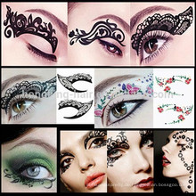 Tätowierung Tätowierung temporäre Tätowierungen bilden Auge Tätowierung Aufkleber Eyeliner Aufkleber
