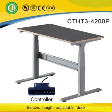 elektrische Steuerung höhenverstellbarer Schreibtischgestell erwachsener Schülertisch mit zwei Motorenbeinen