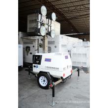 T500-Serie mit 5kVA Generator Mobile Light Tower Generator Set / Diesel Generator Set / Diesel Generating Set / Genset / Diesel Genset- 1 Jahr Garantie