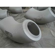Fábrica de accesorios de acero inoxidable de codo de 90 grados