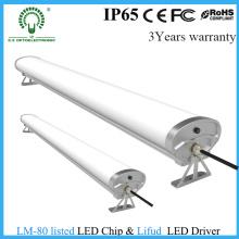 Lumière linéaire d'IP65 LED / Tri-Proof LED très utilisée avec ce RoHS