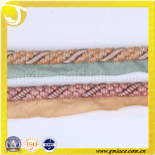 Beautiful Twisted Decorative Rope Braiding for Curtain