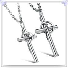 Jóias acessórios de aço inoxidável moda colar (nk361)
