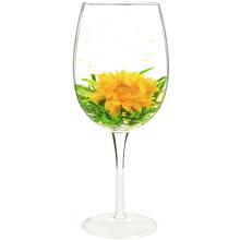 Fei Xue Ying Chun Crisantemo Jasmine Flying Snow Beneficios del té en flor