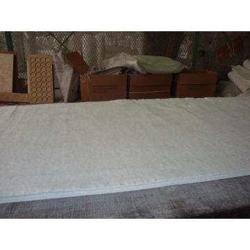 Tecido feltro fibra de vidro pano para isolamento de fogo