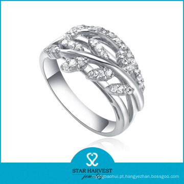 2014 anéis de moda por atacado com CZ (SH-R0108)
