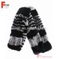 Écharpe de cadeau de Noël tricoté Rex écharpe de fourrure de lapin
