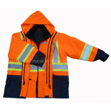 5 in One Parka Reflective Safety Jacket (DPA020)