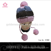 Free knit pattern for earflaps crochet knitted hat