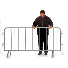 UK Tipo Barricadas de acero galvanizado en caliente