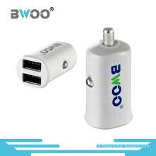 Hot-Selling Haute Qualité 5V/2.1A Mini Chargeur de Voiture Mobile Double USB