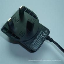 Adaptateur secteur CA / CC 5A 9V 12V 24V 0.25A 0.5A