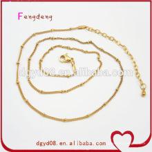 Cadenas de GuangDong Factory Gold precios baratos