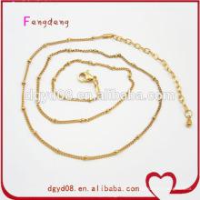 GuangDong Factory Gold chaînes à bas prix