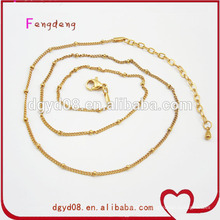 GuangDong Factory Gold chains cheap prices