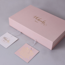 High Quality Custom Foil Print Paper Gift Box