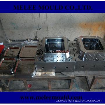 Moule en plastique personnalisé de seau de peinture de seau de Melee